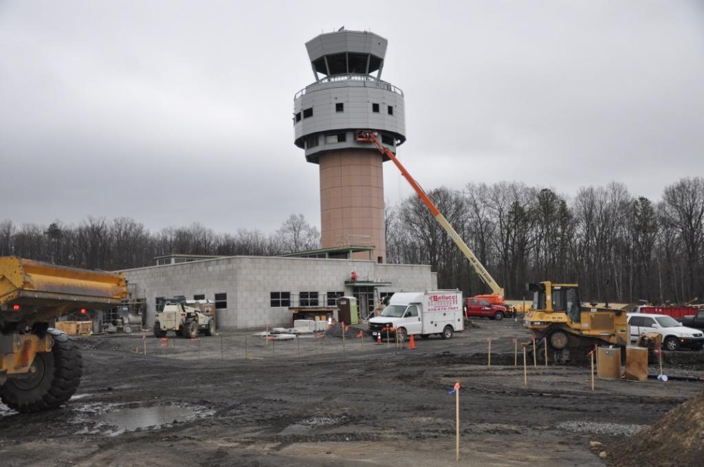 Wilkes Barre Scranton Airport Air Traffic Control Tower